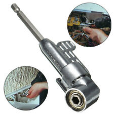 1/4in Hex Screw Driver Bit 105 Degrees Angle Extension Socket Holder Adapter