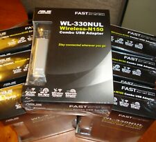 ASUS Wireless-N150 WL-330NUL Combo USB Adapters Quantity- 7 *NEW*