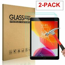 2-Pack Tempered Glass Screen Protector for iPad Air 3 (2019) and iPad Pro 10.5