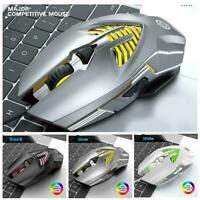 Q1 Wireless Optical Mouse Mice & USB Receiver For PC Laptop Game/Office H2W3