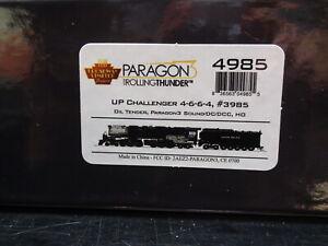 HO-BROADWAY LIMITED 4985 UP Challenger 4-6-6-4, #3985 OiL Tender DC/DCC SOUND