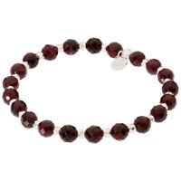 Gorjana Power Gemstone Elastic Bracelet for Energy, Silver 194-209-34-S