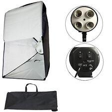 Supporto Illuminatore Luci Studio Foto Video 4in1 e Softbox integrato ES4 50x70