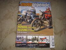 MOTO LEGENDE 189 04.2008 TRIUMPH T120 CYCLOS JAPONAIS OLLEARO 250 ROYAL ENFIELD