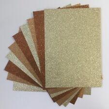 Xmas Glitter Card X 10  Glitter Card A4 Christmas Glitter Scrapbooking