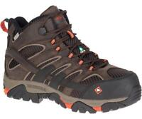 Merrell Newest Men's J15873 Moab 2 Composite Toe Waterproof Safety Work Boots