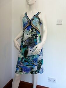 Marc Cain Sea Life Summer Dress   UK 10   N.2  £329  BNWT