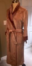 NWT NATORI Plush Polar Fleece Robe ~ M Medium ~Super Soft Comfy!~$88