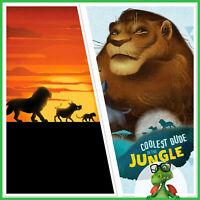 Topps Disney Collect Lion King Sovereign Savanna & Pride Rock Personas w/ Award