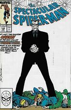 The Spectacular Spider-Man Comic Issue 139 Copper Age First Print 1988 Conway
