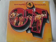 THE JACKSON FIVE GET IT TOGETHER VINYL LP 1973 MOTOWN RECORDS M 783V1, STEREO