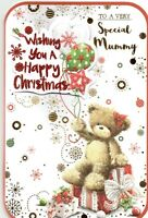 To A Very Special Mummy Cute Luxury Medium Sized Christmas Card