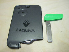 Renault Laguna 2 / Espace  / Vel Satis  key card 2 buttons (remote key)