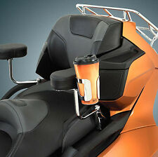Chrome Passenger Armrest Cup Holder for Can Am Spyder RT, RTS, Ltd (BB52-836)