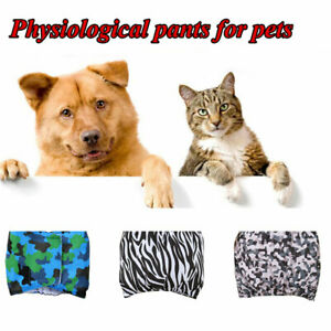 Dog Physiological Pants Puppy Sanitary Nappy Diapers Belly Wrap Band Underpants