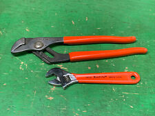"""XCELITE 63CG Slip Joint Adjustable Utility Pliers and 46CG ADJUSTABLE WRENCH 6"""""""