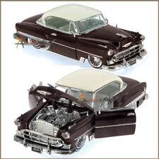 Jada Street Low Chevy Bel Air Hard Top 1953, 1/24 scale DARK BROWN UN-BOXED.