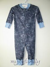 HANNA ANDERSSON Baby Organic Zip Sleeper Under the Sea 80 18-24 months NWT