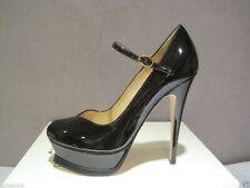 YSL Yves Saint Laurent Black Maryjane Tribute Sandals Pumps 41 11 $795