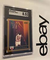 Michael Jordan SGC 8.5 Skybox 1990 #41 Last Dance Card Collector Chicago Bulls