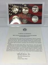 2005 S United States Mint 50 State Quarters Silver Proof Set