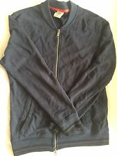 Timberland Navy Bomber Jacket/Cardigan in Small