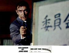James Bond: Man lebt nur zweimal ORIGINAL Aushangfoto Sean Connery / D Pleasence