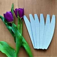 Nail Files Professional half moon 100/180 grit gel acrylic tips multilisting