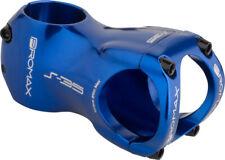 """Promax S-35 Stem - 60mm, 35 Clamp, +/-0, 1 1/8"""", Aluminum, Blue"""