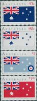 Australia 1991 SG1275-1278 Australia Day flag set MNH