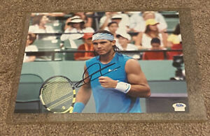 Rafael Nadal Signed ACE AUTHENTIC SECRET SIGNATURES 8x10 Photo French Open Champ