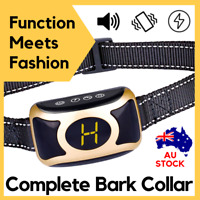 2019 B400 AUTOMATIC ANTIBARK DOG COLLAR Rechargeable B400 E-collar BARK STOPPER