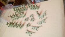 Airfix? 1/32 soldados británicos Commando Segunda Guerra Mundial Gran Lote