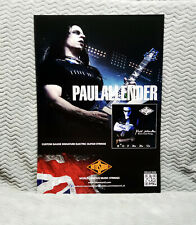 "Cradle of Filth ""Paul Allender"" Rotosound Promo Poster"