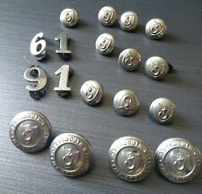 Portsmouth Fire Brigade Buttons