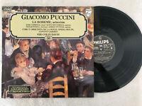 Giacomo Puccini LP Vinyl Die Boheme Jose Racing Sir Colins Davis Philips 50