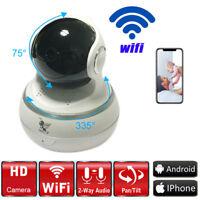 1080P HD Wireless Wifi IP Camera IR Security Webcam Baby Pet Monitor Pan Tilt
