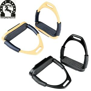 Flexi Irons / Stainless Steel Horse Stirrups