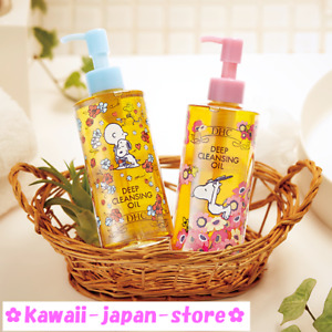 DHC Deep Cleansing Oil Make Up Remover 200ml x 2pcs Set Snoopy Design Ver.