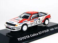 1:64 Scale Toyota CELICA GT-FOUR 1990 RAC Rally #2 Diecast Racing car CM's JAPAN
