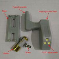 A4C9 Smart Battery Powered LED Beam Cabinet Cupboard Closet Night Light Lamp