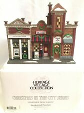 Dept 56 Christmas in the City Village Riverside Row Shops #58888 {3 Shops In 1}