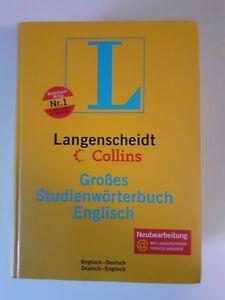 Langenscheidt Collins Großes Studienwörterbuch Englisch