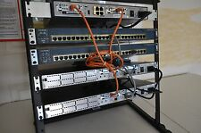 CISCO CCENT CCNA CCNP R&S SECURITY LAB KIT 1x 1841 IOS 15.1 2x 2611XM CME 4 RACK