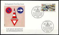 BRD 1991: Verkehrssicherheit! FDC der Nr 1554 mit Bonner Sonderstempeln! 1A 1706