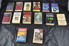 Lot Of 14 Vintage Paperback Books Novels Texasville Koko Silence Of Lambs  S4O10