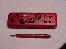 BMW Z3 Roadster Rosewood Pen & Case Engraved