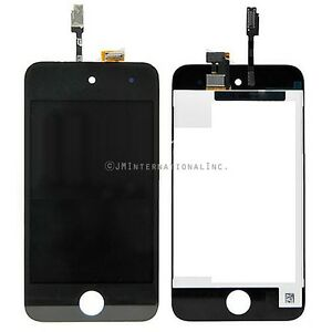 Black iPod Touch 4th A1367 LCD Screen Display Touch Screen Digitizer Assembly