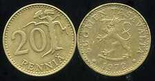FINLANDE 20 pennia 1972  ( bis )