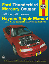 1989-1997 Haynes Ford Thunderbird & Mercury Cougar Repair Manual
